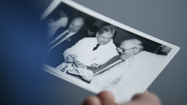 Using old photographs helped tell the TBS story